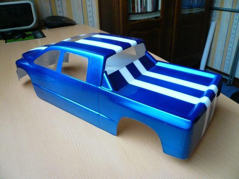Comment peindre une carrosserie lexan simplement ? P1050800800x600