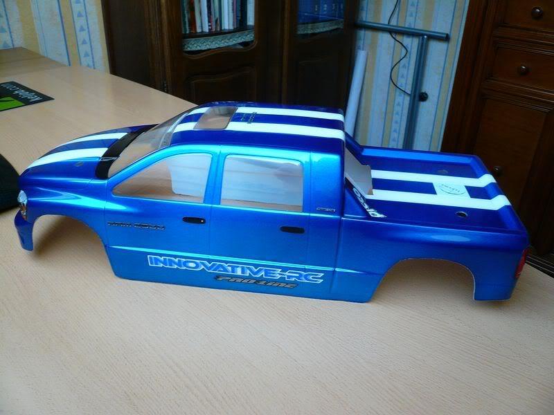 Comment peindre une carrosserie lexan simplement ? P1050809800x600