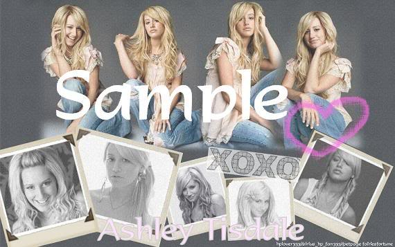 Ashley Tisdale Ashleytisdalenewwlayoutsample