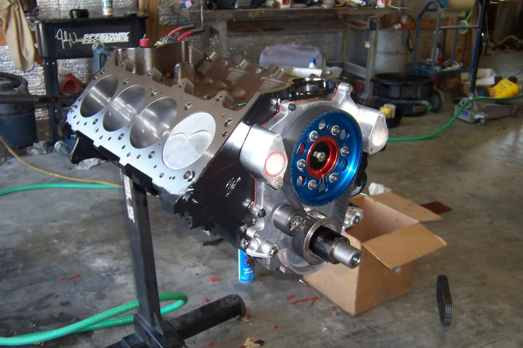 new engine is coming together Hotrodreunion130