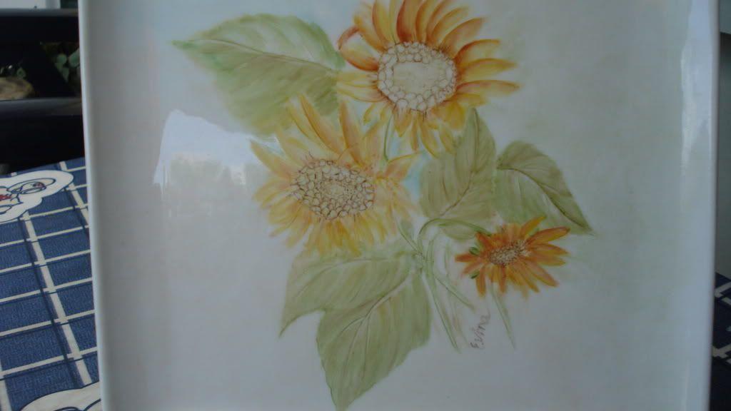 O meu 1° trabalhinho pintura em porcelana DSC01013