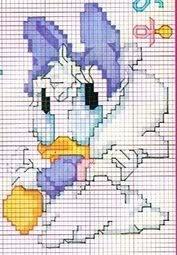 Esquemas infantis ponto cruz Bonecos_disney_3