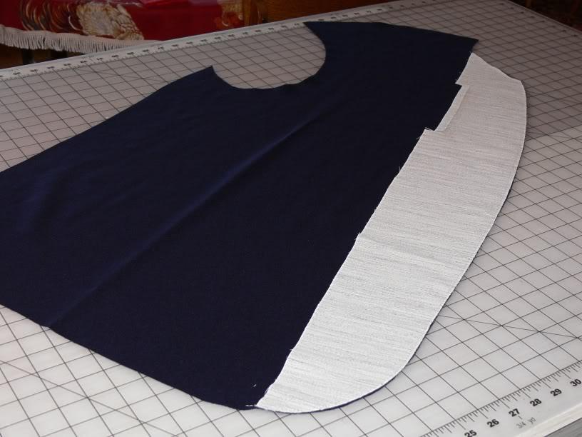 Union sack coat 08_Frontinterfacing