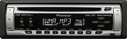 MP3 Player Pionner e Toca fitas Original. Deh2880mpa_gd