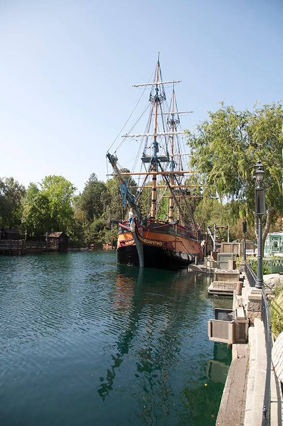 [Disneyland Park] Rivers of America en travaux 1019