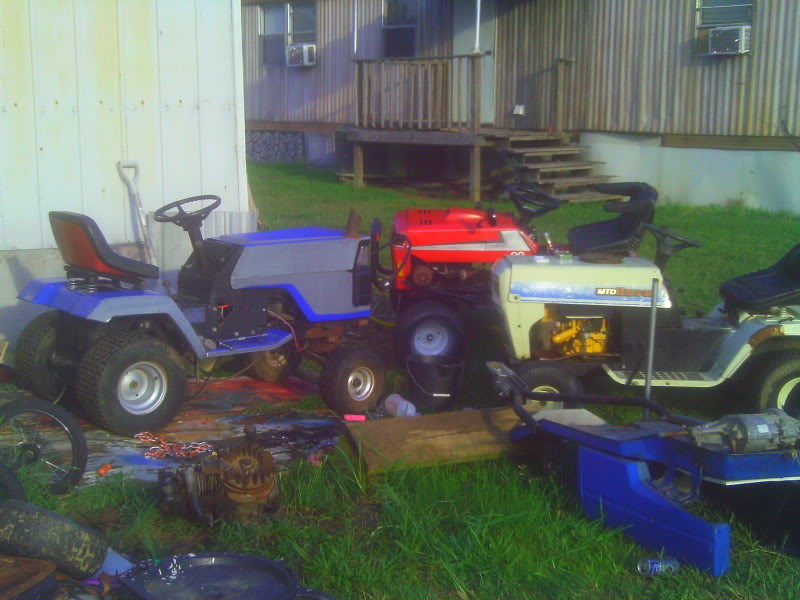 My restored push mower. IMAG00022