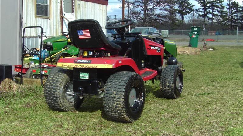 Murray Racing Mower : My murray widebody
