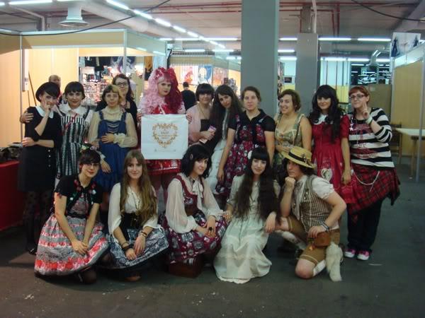Merkades y Alicia, escritoras de Doll Stories MeetingenlaJapanweekendmadrid