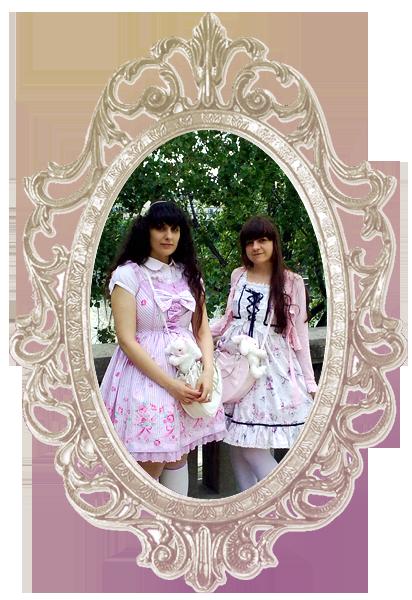 Merkades y Alicia, escritoras de Doll Stories Merc_alice