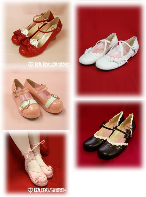 •*´¨`*•.¸¸.♥Lolita's World♥ Club Lolita + Harajuku Lovers♥.¸¸.•*´¨`*• Shoes