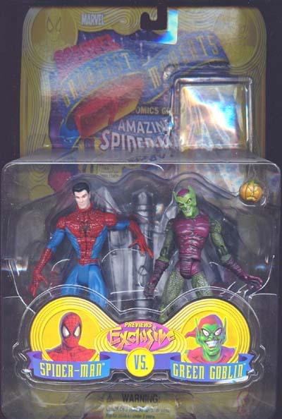 LE BOUFFON VERT I Spidermanvsgreengoblin