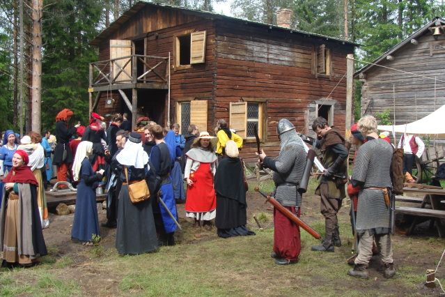 Klomsters first larp. Swedish style. DSC01318