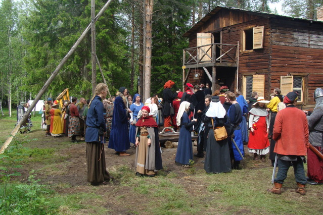 Klomsters first larp. Swedish style. DSC01319