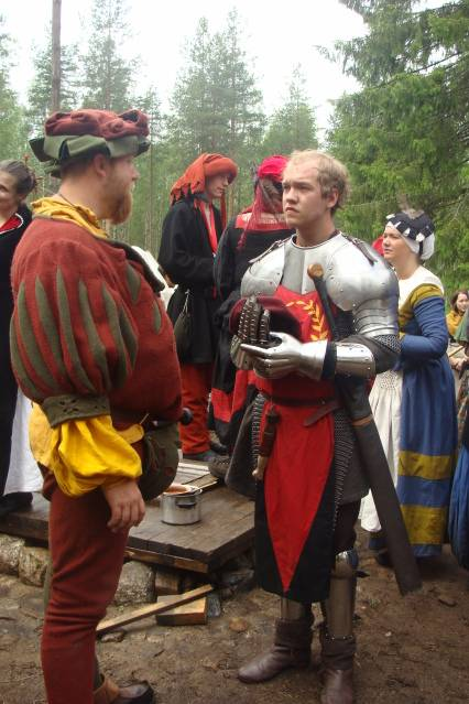 Klomsters first larp. Swedish style. DSC01320