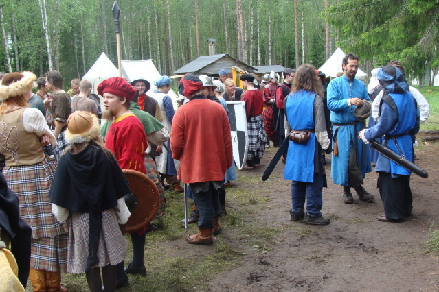 Klomsters first larp. Swedish style. DSC01321