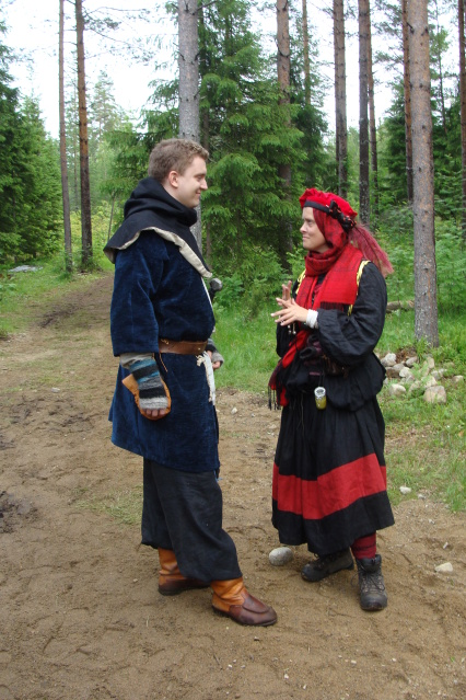 Klomsters first larp. Swedish style. DSC01326