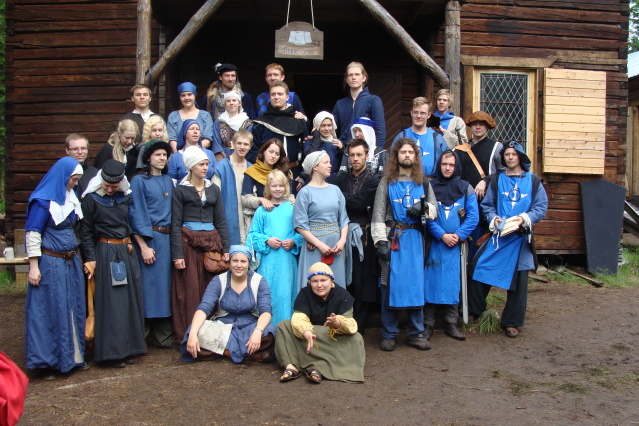 Klomsters first larp. Swedish style. DSC01331