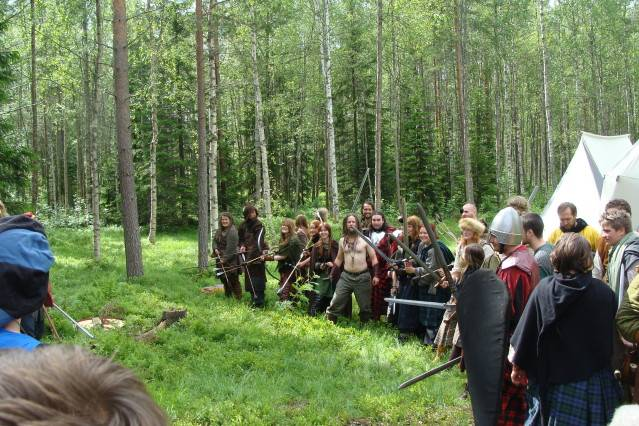 Klomsters first larp. Swedish style. DSC01341