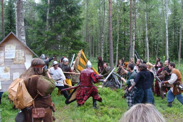 Klomsters first larp. Swedish style. DSC01344