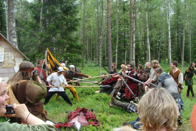 Klomsters first larp. Swedish style. DSC01345
