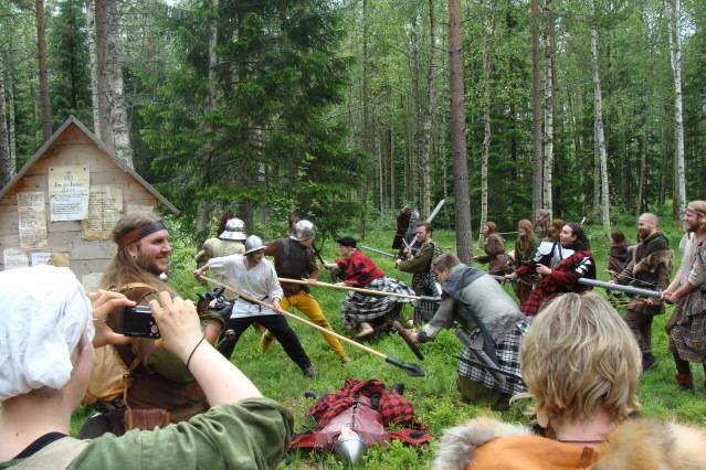 Klomsters first larp. Swedish style. DSC01346