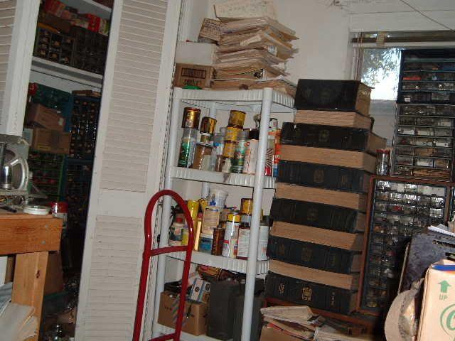 My workbench-It's finally happenning.... 2004_0101Diamondandworkbench0012