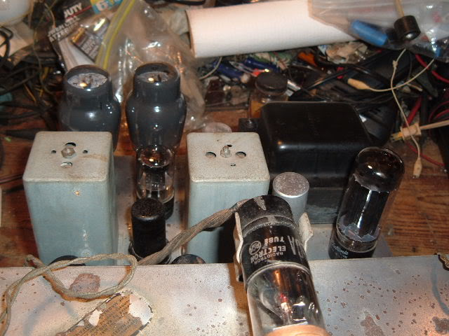 My Magnavox 1946 model RC-198C radio-phonograph 2011_0314Magnavox98Cdone0013