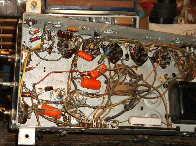 Restoration of RCA Victor R-98  1939 table top victrola 2012_0924RCAVictorR-980001