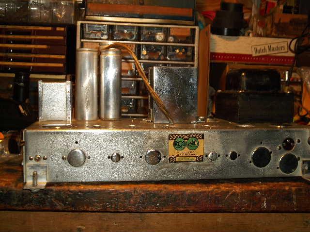 Restoration of RCA Victor R-98  1939 table top victrola 2012_0924RCAVictorR-980003