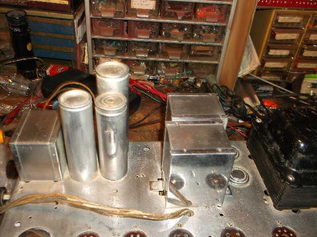Restoration of RCA Victor R-98  1939 table top victrola 2012_0924RCAVictorR-980007