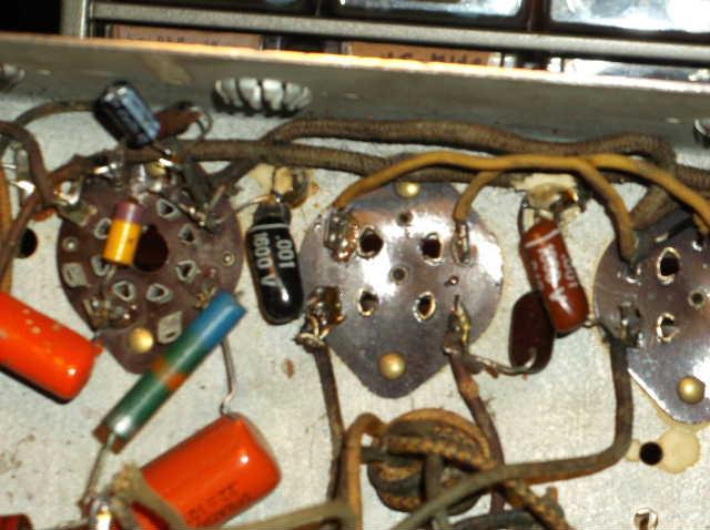 Restoration of RCA Victor R-98  1939 table top victrola 2012_0924RCAVictorR-980021
