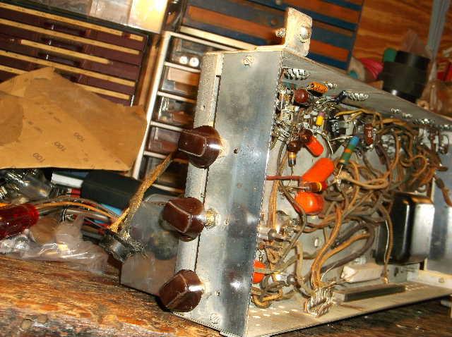 Restoration of RCA Victor R-98  1939 table top victrola 2012_0924RCAVictorR-980025