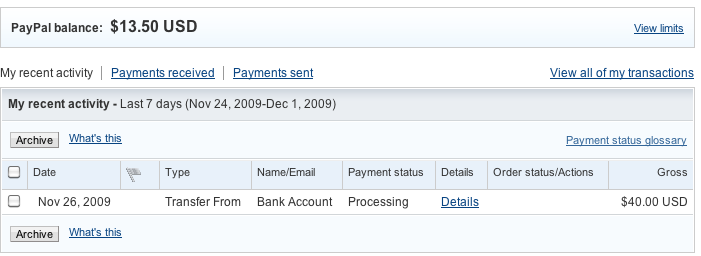 an indecent proposal Paypal