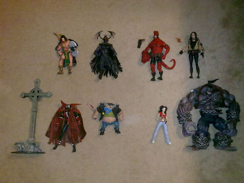 FS: WWE, South Park, Marvel, DC, Movies and more! Comic001