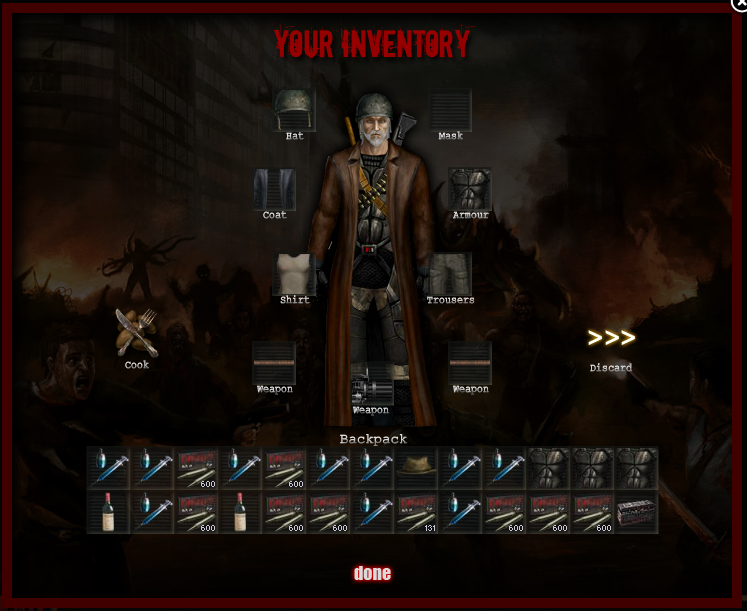 Do you really have to kill zombies to loot..............I think not :D Beforehealing