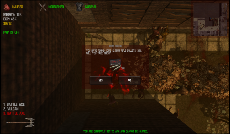 Do you really have to kill zombies to loot..............I think not :D Ditchingzeds3