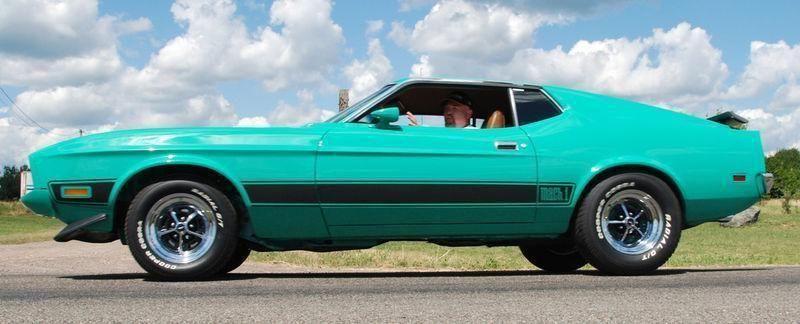 Mustang Mach 1 1973 (Q code)  _2010-1