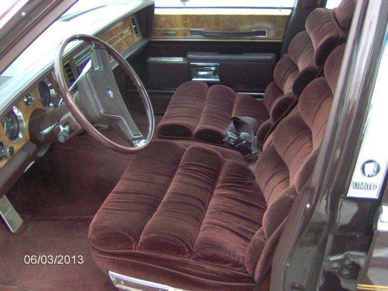 1985 Buick LeSabre Ltd Collector Edition Berline 55000 dollars Buick-85-001