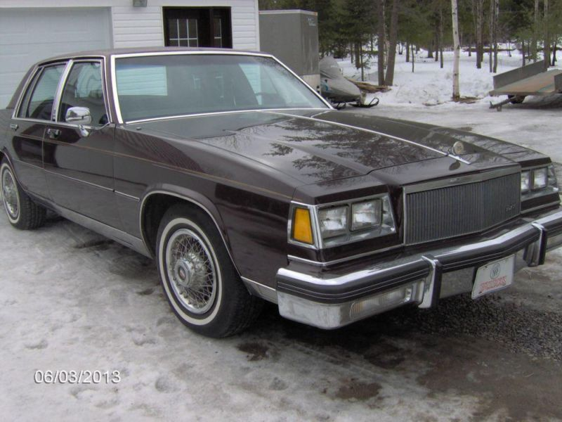 1985 Buick LeSabre Ltd Collector Edition Berline 55000 dollars Buick-85