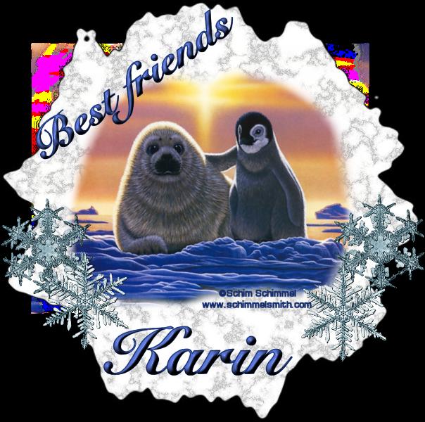 """Challenge theme is """"Best Friends"""" Schimmelfriends-karin"""
