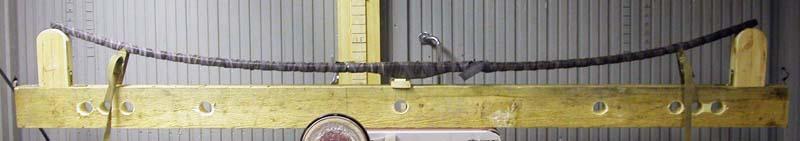 Video de laminación de un arco de hickory con bambú Form