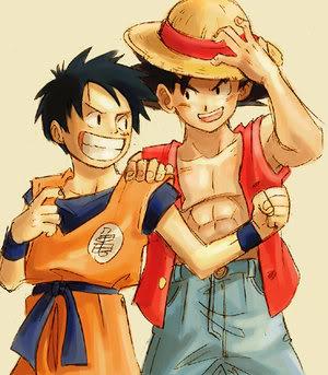 → Act. A que no puedes =P Goku-luffy