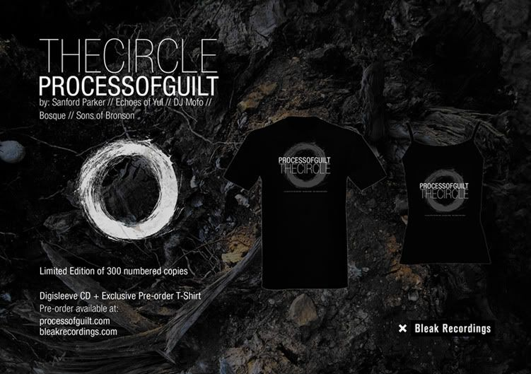Bleak Recordings presents: Process of Guilt // The Circle (Pre-order) Add3