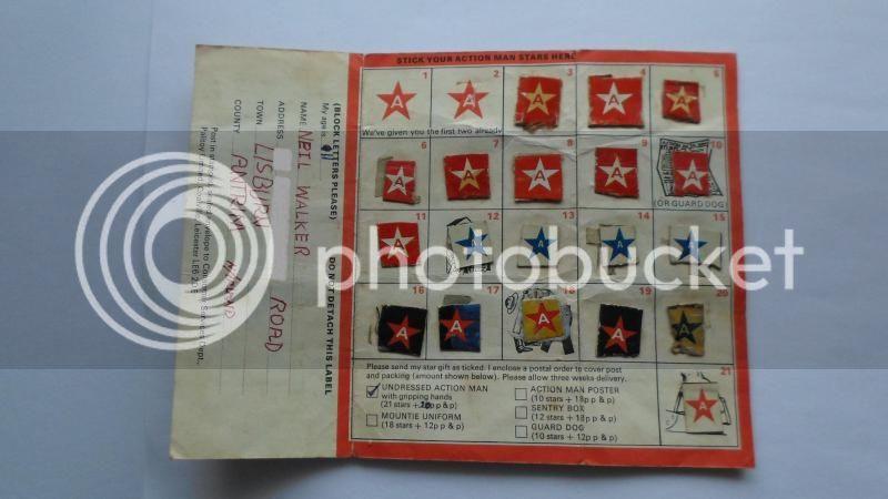 My own original star cards CustomActionman001