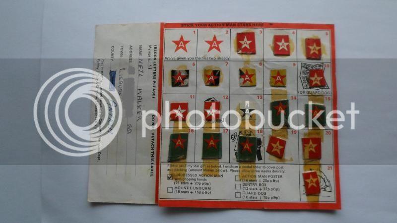 My own original star cards CustomActionman003