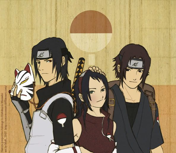 The Valley - Page 4 The_Uchiha_Siblings_by_sorceressmyr