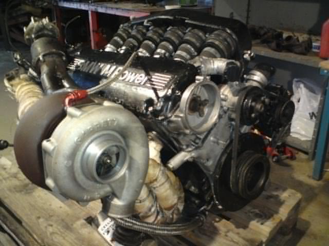 Henkan - Bmw 535 Turbo (provkörd ) M30-2
