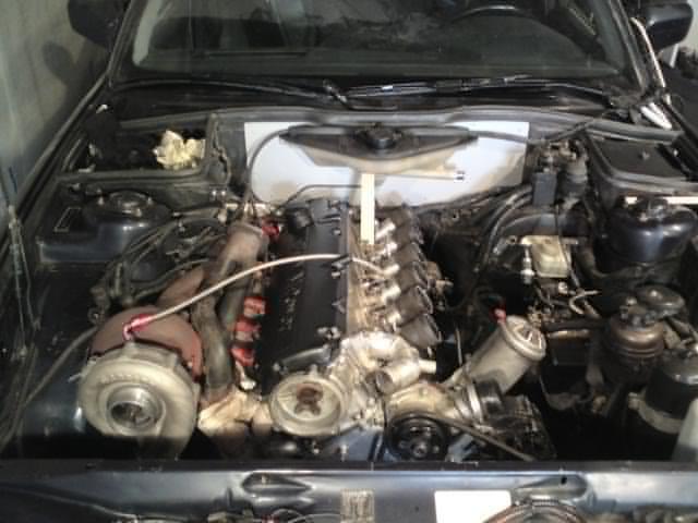 Henkan - Bmw 535 Turbo (provkörd ) M7