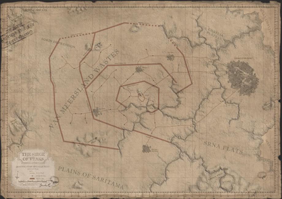 88th Krieg-Division ( Siege of Vraks ) Vrakscampaignmap
