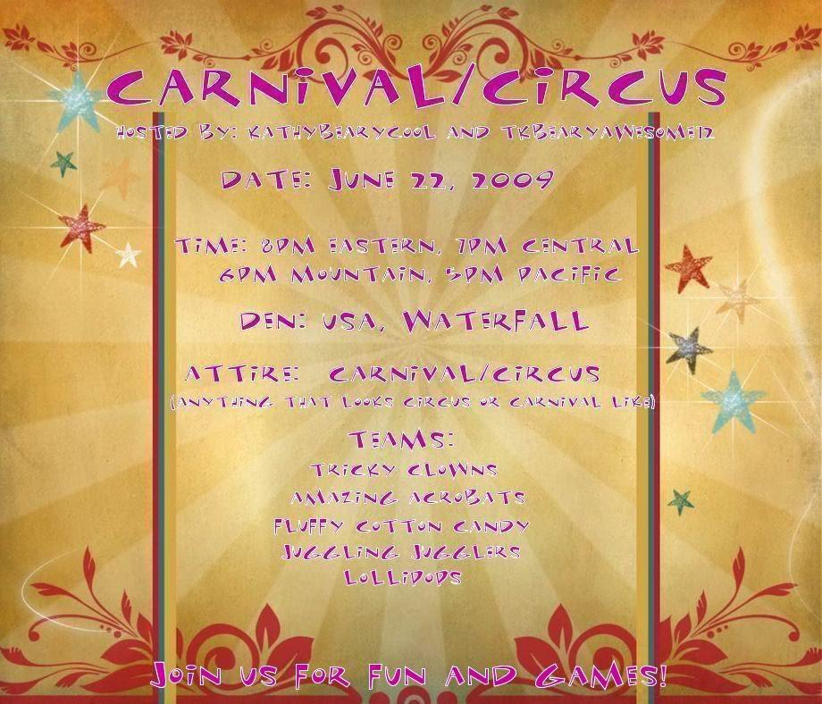 Carnival/Circus Fun Party! 483770091779